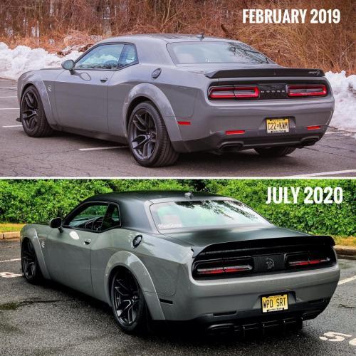2018 Dodge Challenger widebody Hellcat WorkPlayDrive